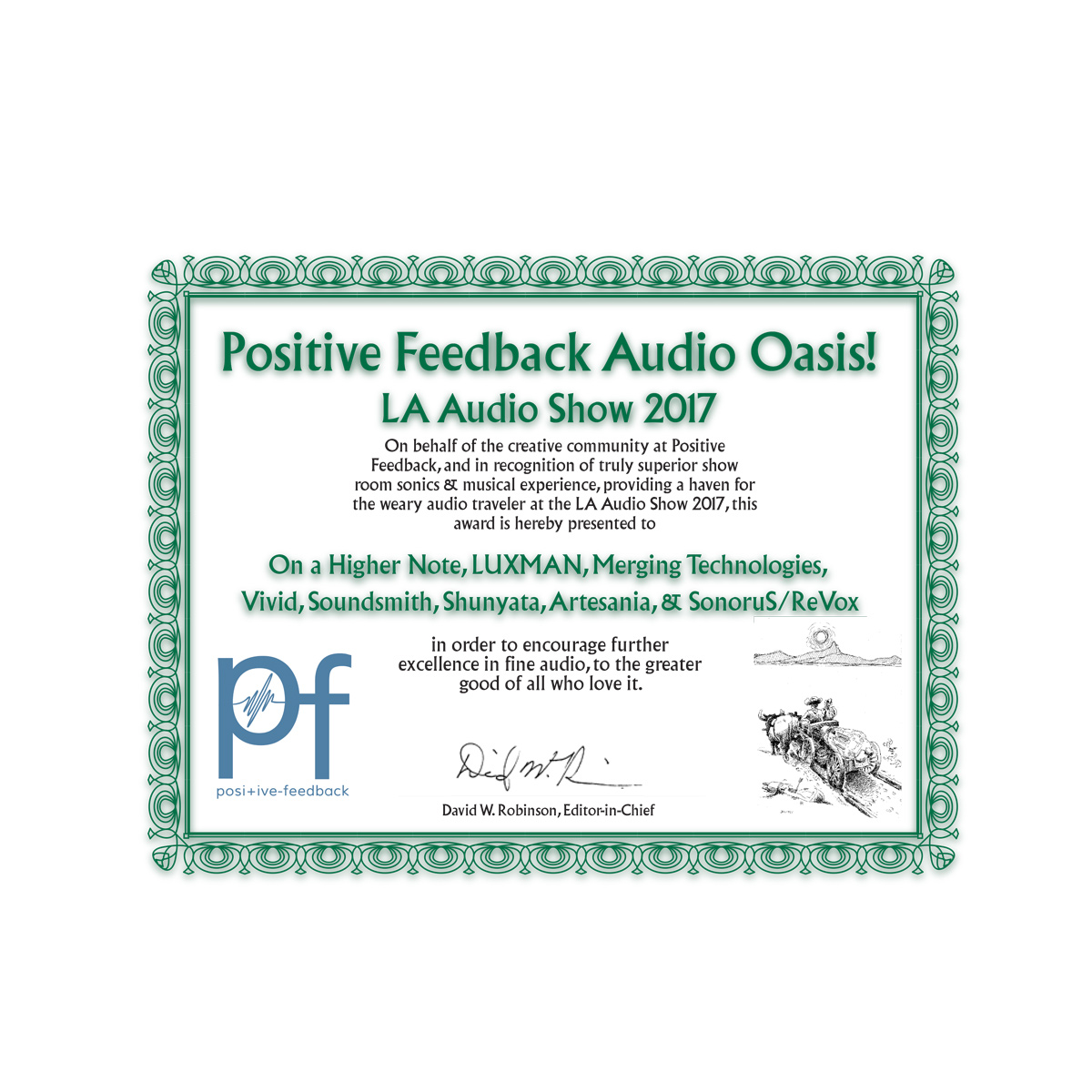 Positive Feedback Audio Oasis - LA Audio Show 2017