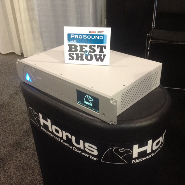 Best Of Show Award - Pro Sound Network - NAB 2012