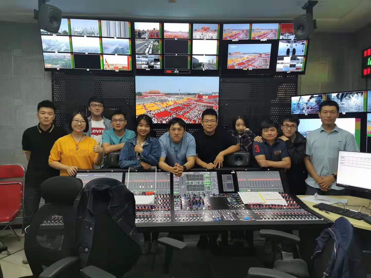 CCTV Team, PRC 70th Anniversary 2019