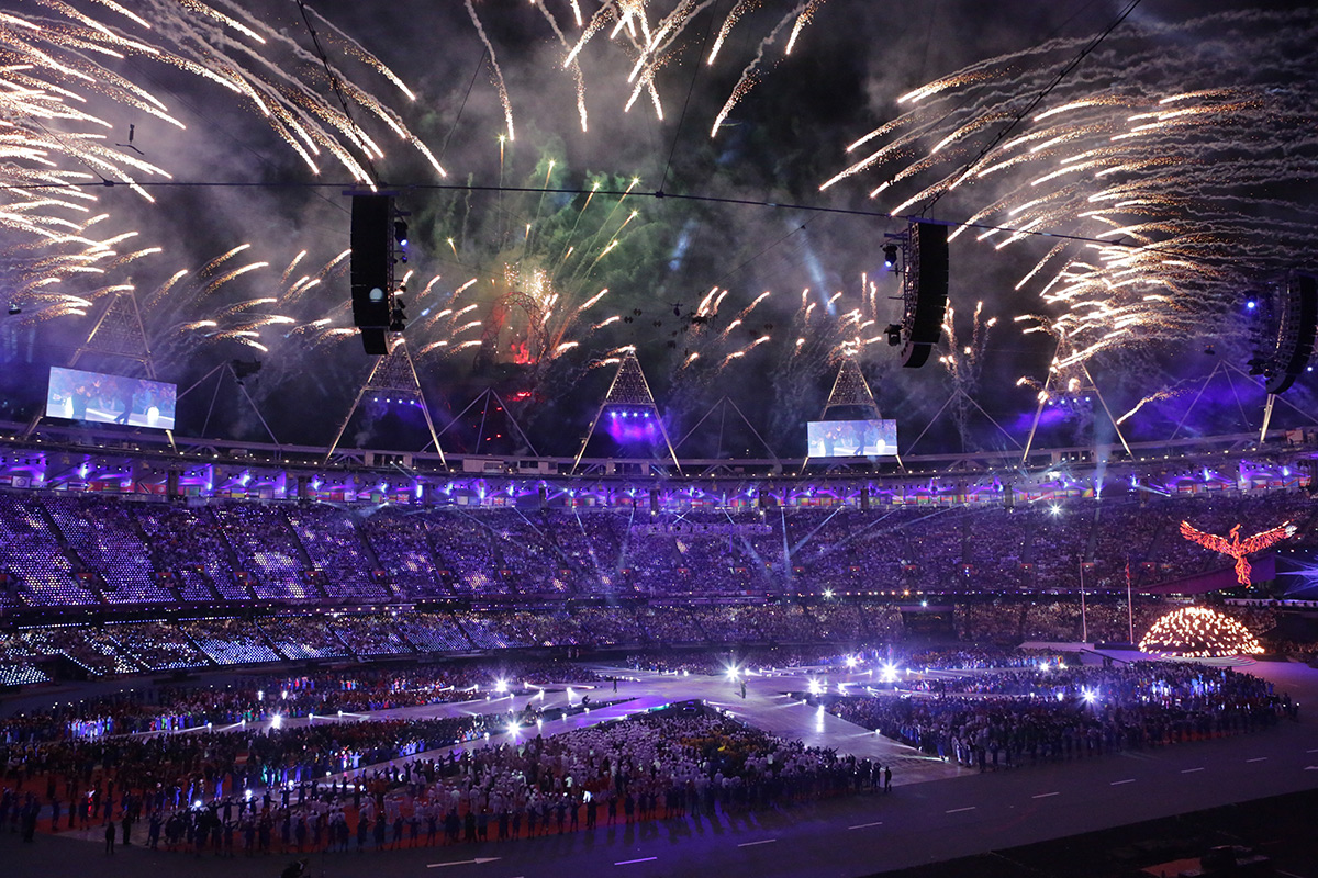 London Olympics, powered by Ovation/Pyramix