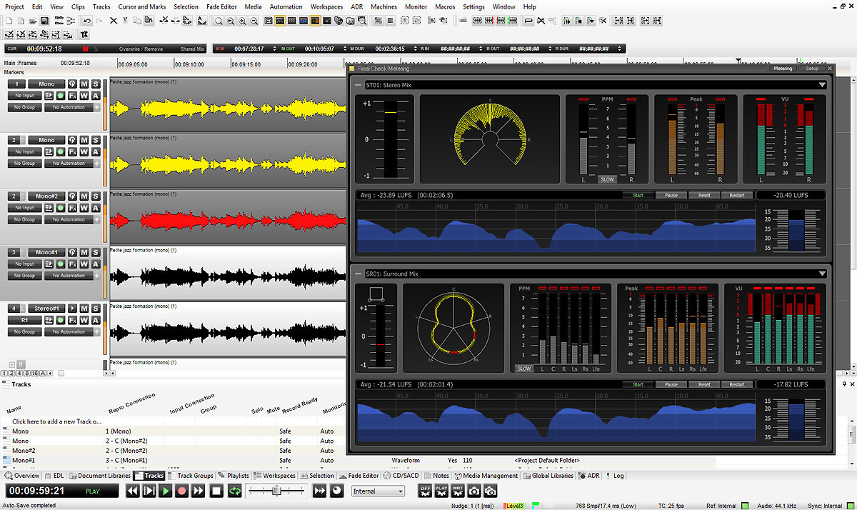 Pyramix | Digital Audio Workstation