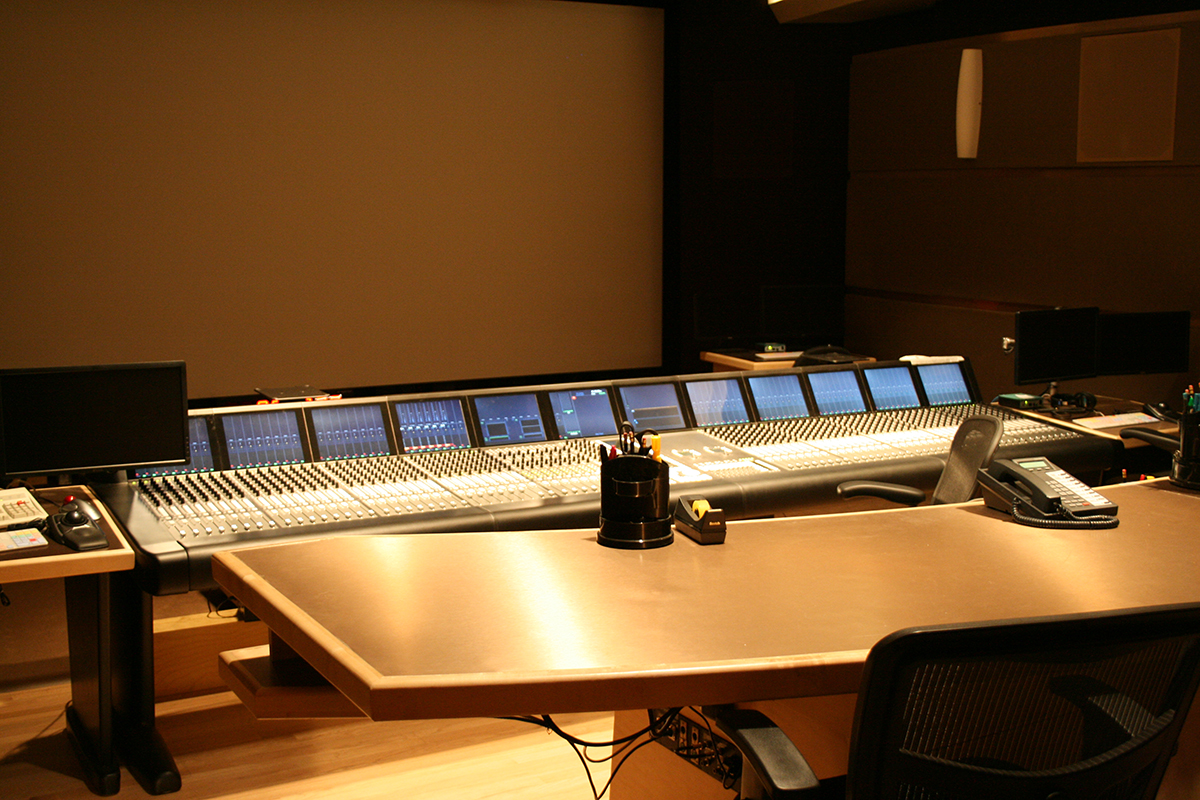View of Avid/Euphonix System 5