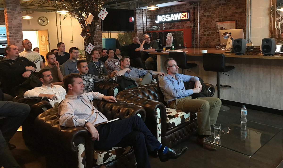 ANEMAN launch event at the London premises of renowned audio & video solutions resellers, Jigsaw24