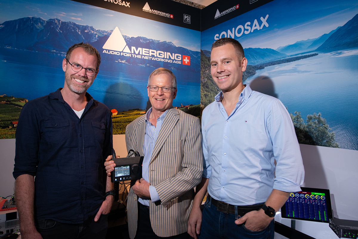 From left to right: Jasper van Eif, Chris Hollebone, John Guntenaar