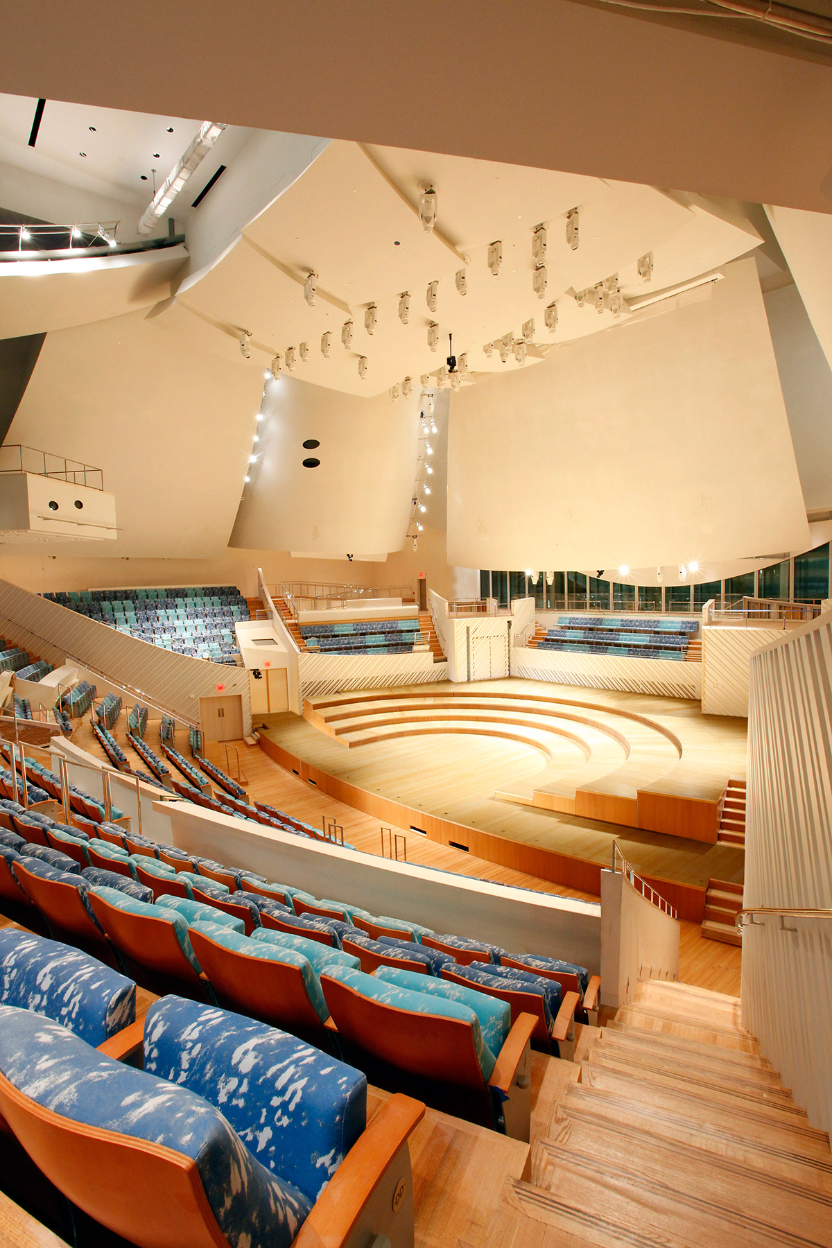 New World Center concert hall 2 - photo by Rui Dias Aidos (REDAV)