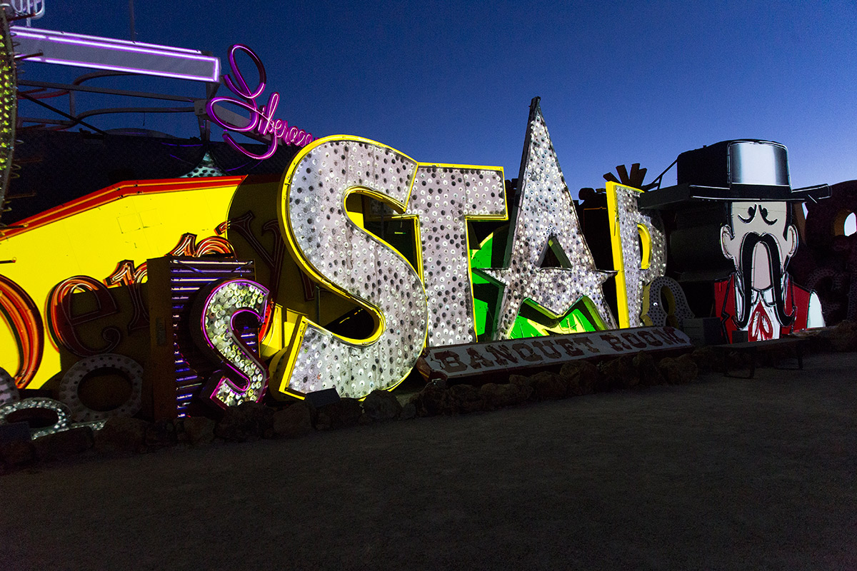 Brilliant! Star (Image Credits – The Neon Museum)