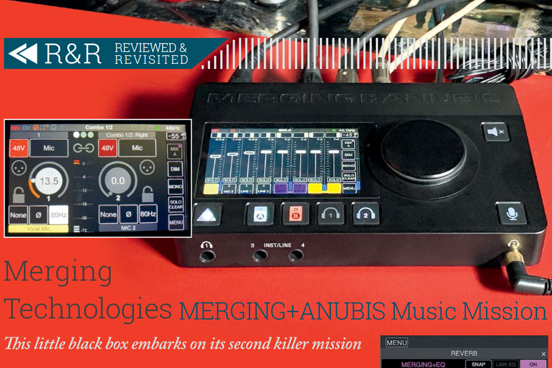 Merging Technologies MERGING+ANUBIS Music Mission