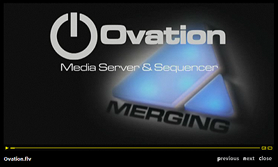 Ovation Demo Video